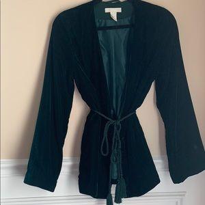 Women's Velvet Coat